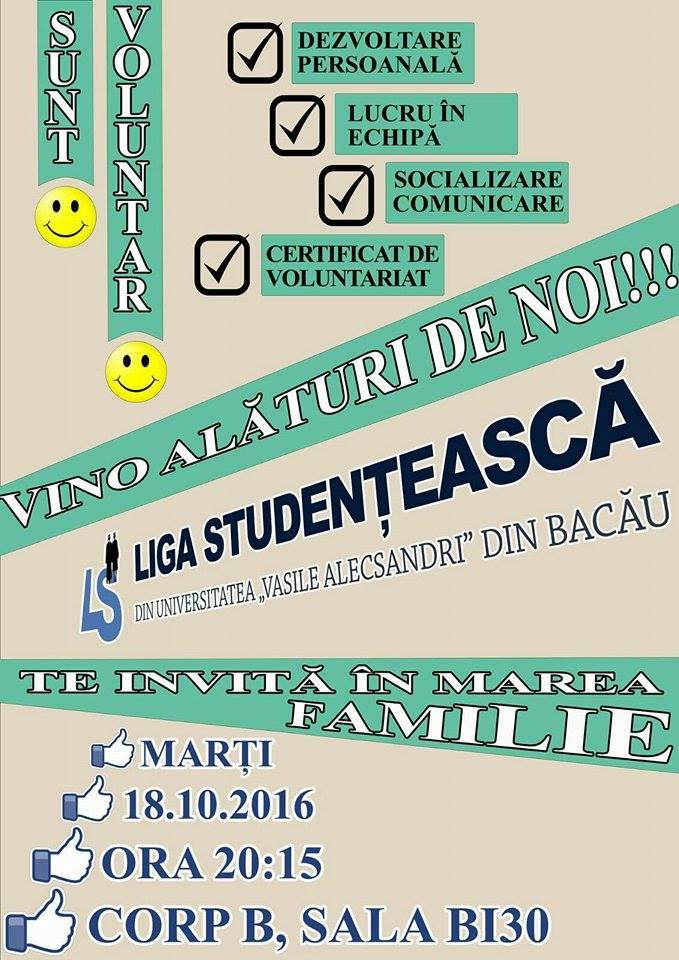 Prima sedinta a Ligii Studentesti din noul an universitar