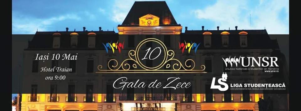 Gala de 10 – UNSR – Iași